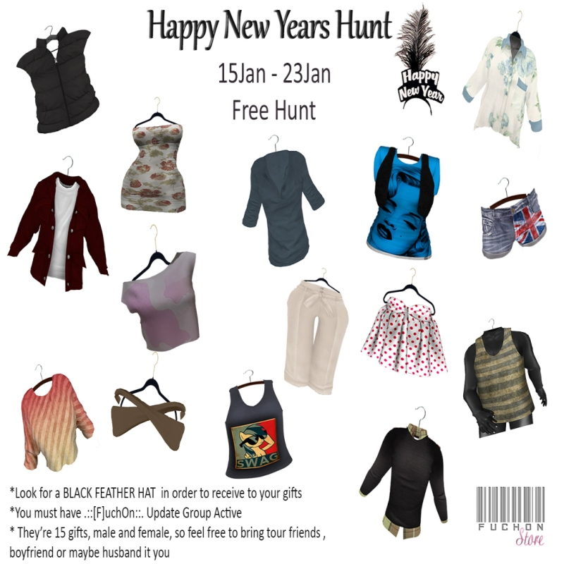 Happy New Years Hunt