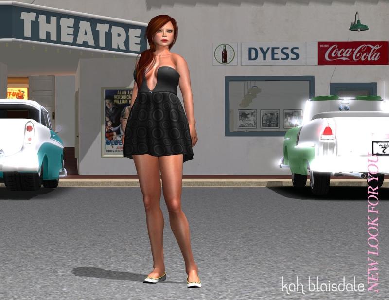 dressblueberryblackLOOK